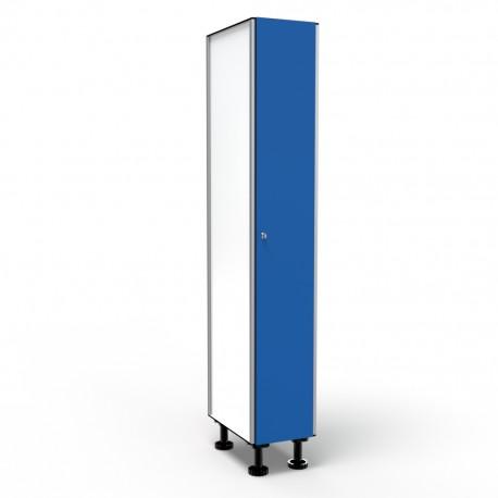 Locker 1 Door 1 Module - Blue