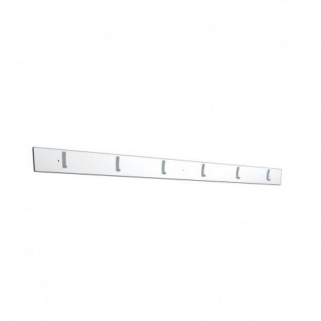 Wall coat rack 1,5m - White