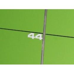 Vinyl numbering.
