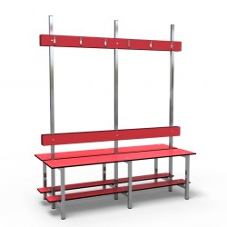 Bench 1.5m Double without self